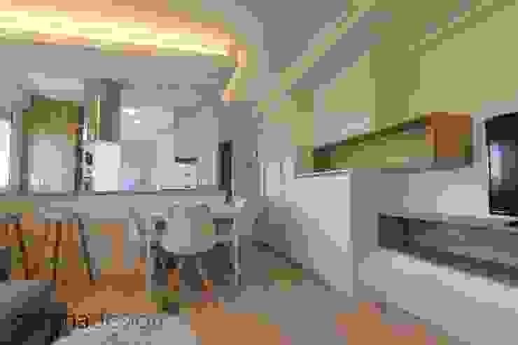 Apartamento Nórdico Comedores de estilo escandinavo de Danma Design Escandinavo