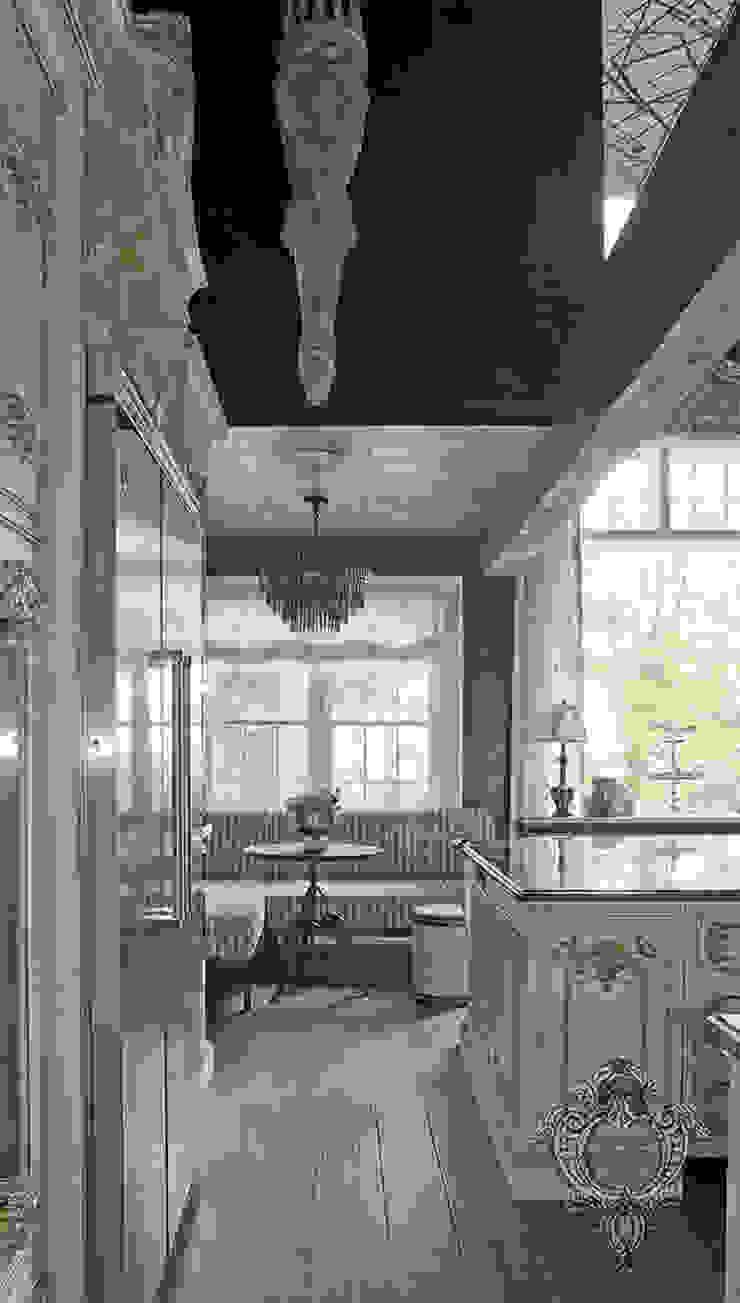 Breakfast Nook Kellie Burke Interiors 廚房