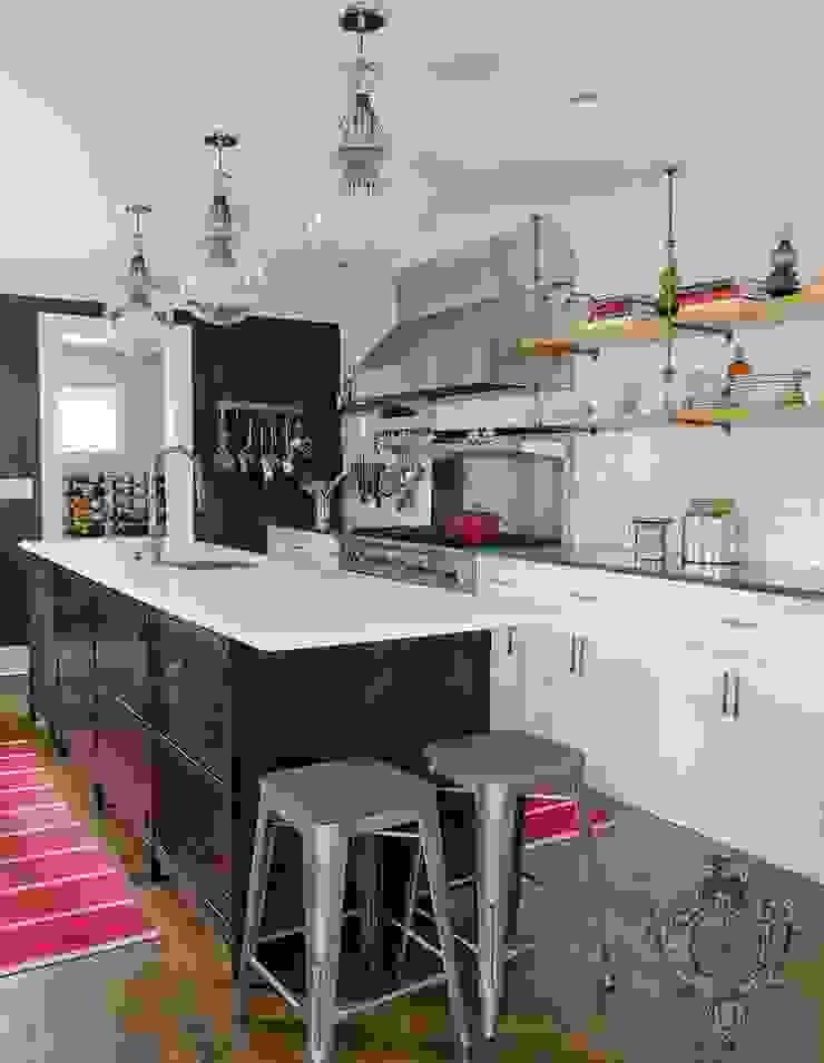 Kitchen Industrial style kitchen by Kellie Burke Interiors Industrial