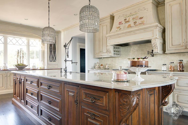 Kitchen Island by Kellie Burke Interiors Classic