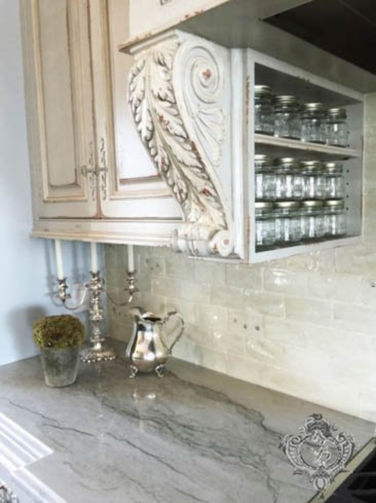 Kitchen Counters by Kellie Burke Interiors Classic