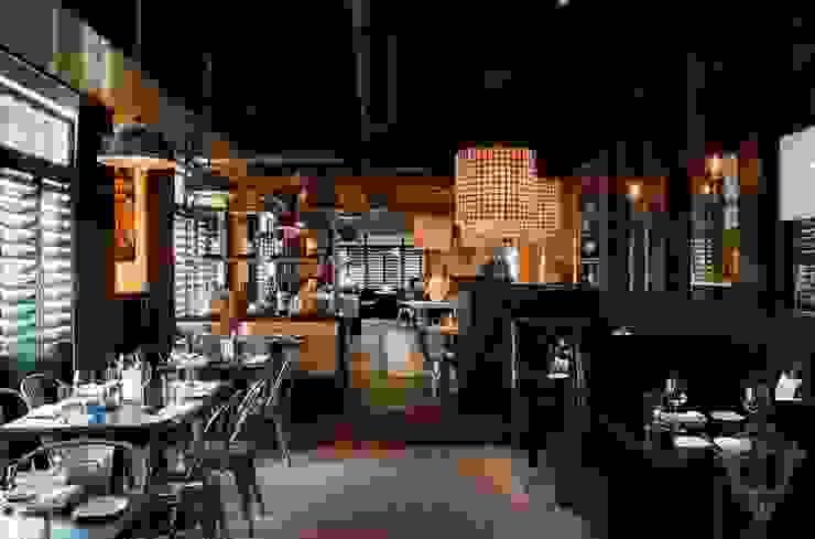 Restaurant by Kellie Burke Interiors Rustic