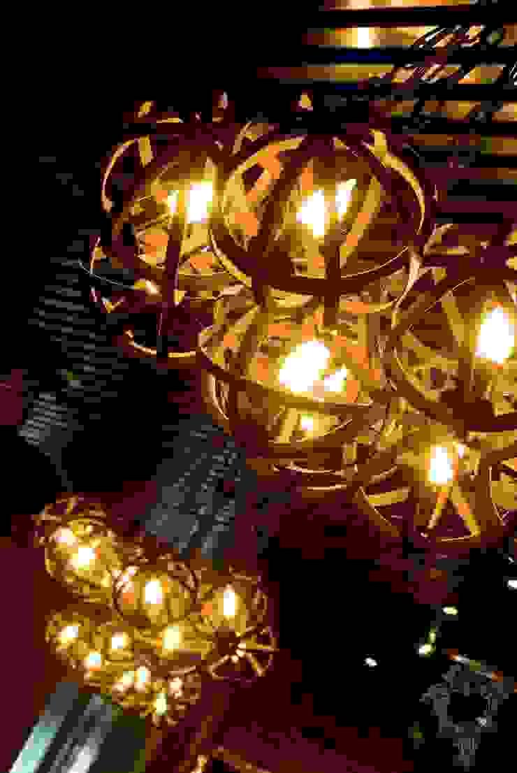 Restaurant Light Fixtures by Kellie Burke Interiors Rustic