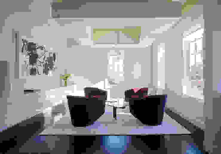 Craftsman Modern Modern Living Room by FORMA Design Inc. Modern