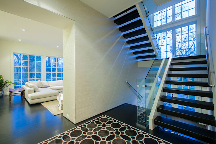 Craftsman Modern Modern Corridor, Hallway and Staircase by FORMA Design Inc. Modern