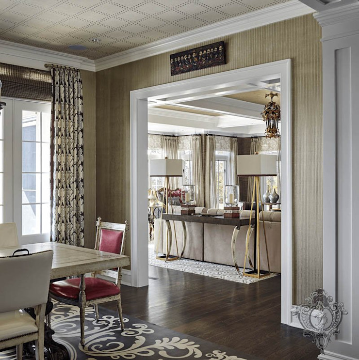 Dining Room Classic style dining room by Kellie Burke Interiors Classic