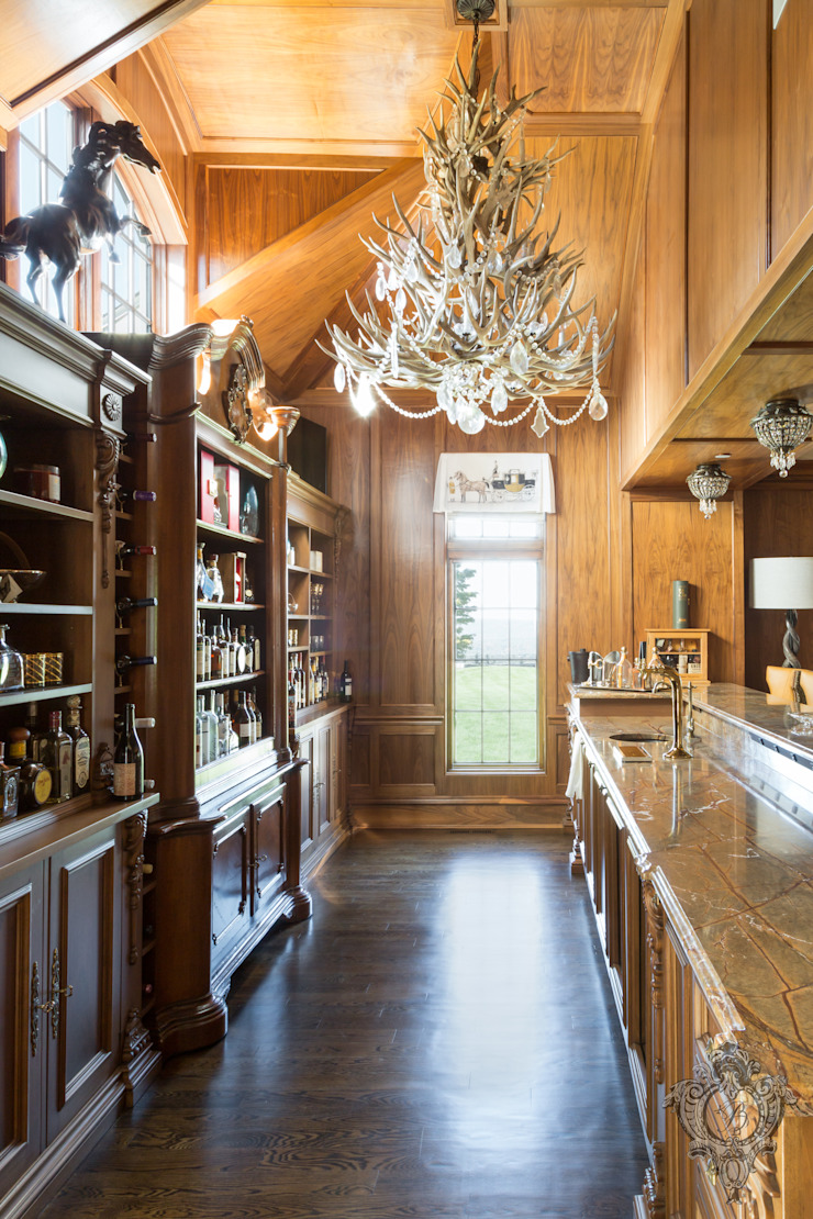 Bar Room by Kellie Burke Interiors Classic