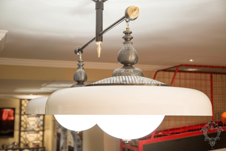 Entertainment Room Light Fixtures by Kellie Burke Interiors Classic