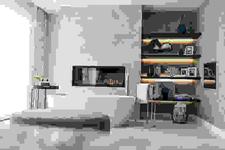 Elegante Baños de estilo moderno de Claudia Luján Moderno
