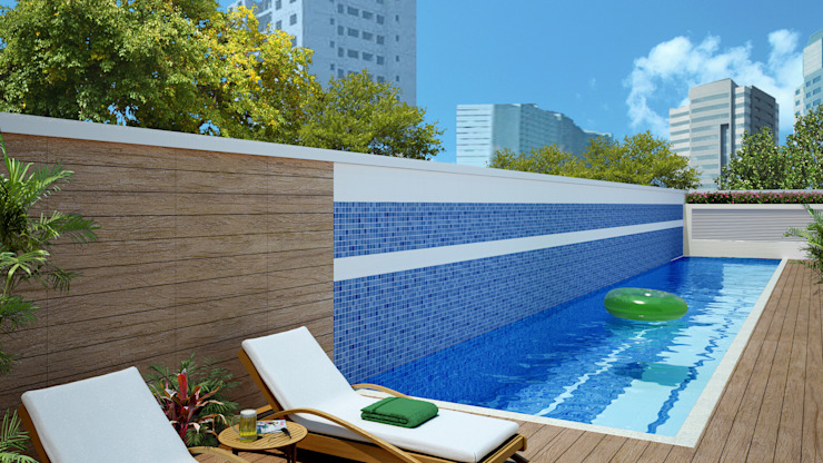 Pool von Juliana de Sá Arquitetura e Design