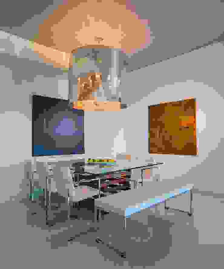 Skyline Flat in Rosslyn Modern Dining Room by FORMA Design Inc. Modern