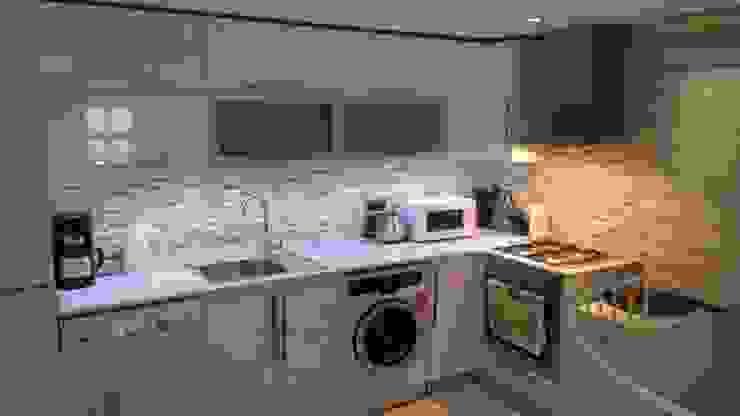 Rustic style kitchen by SAYTAS SABUNCUOGLU YAPI VE TIC.LTD.STI. Rustic