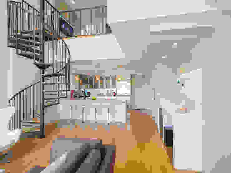 Loft in Arlington Modern Kitchen by FORMA Design Inc. Modern