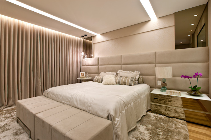 Modern style bedroom by Home projetos Modern