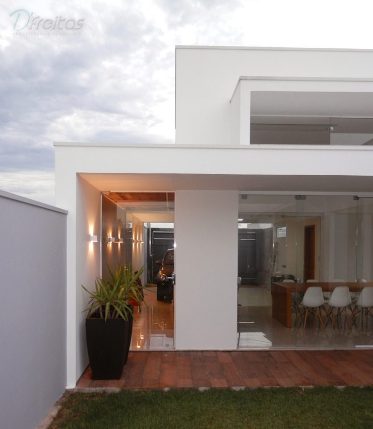 Minimalistische Häuser von D' Freitas Arquitetura Minimalistisch