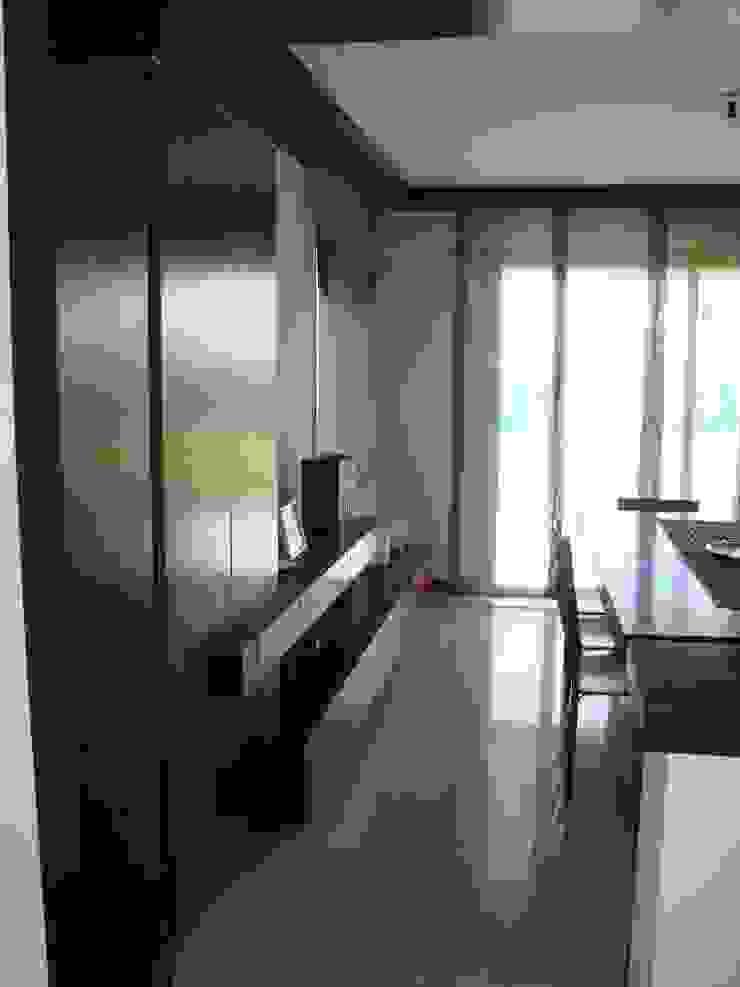 Modern living room by Estudio Karduner Arquitectura Modern Wood Wood effect