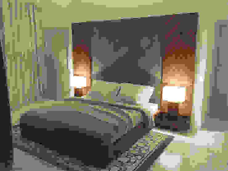 Recámara Estudio Chipotle Dormitorios modernos
