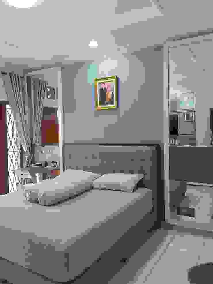 Eclectic style bedroom by Vaastu Arsitektur Studio Eclectic