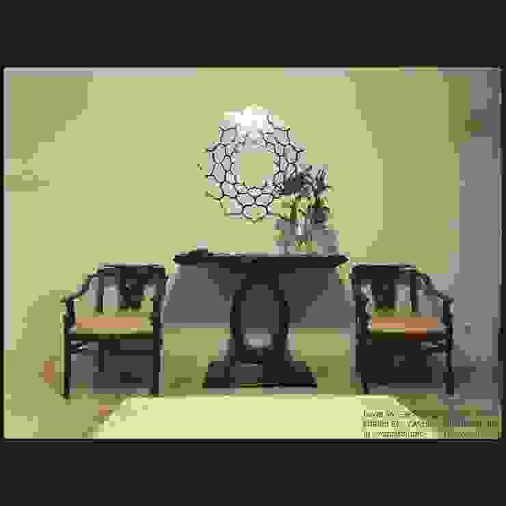 Foyer:  Ruang Keluarga by Vaastu Arsitektur Studio