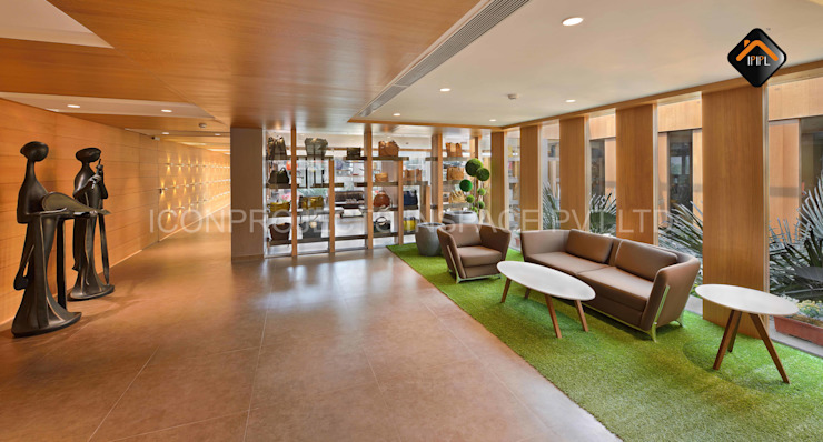 Corridor Area by ICON PROJECTS INSPACE PVT.LTD Minimalist