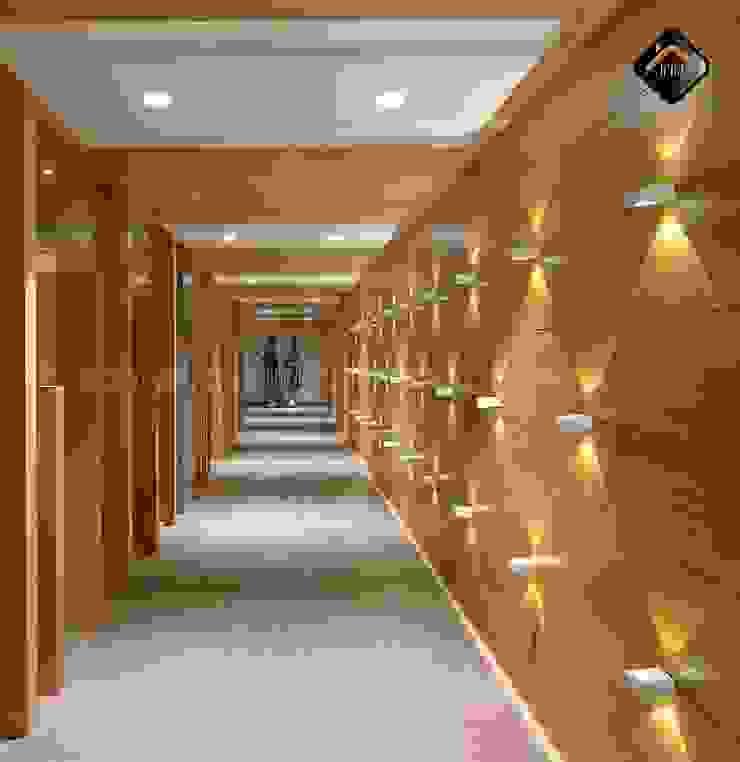 Internal Corridor by ICON PROJECTS INSPACE PVT.LTD Minimalist