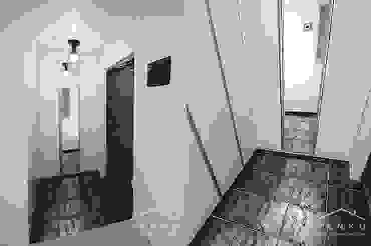 얀코인테리어 Modern corridor, hallway & stairs