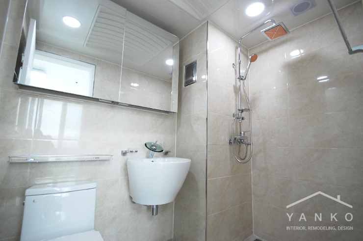얀코인테리어 Modern bathroom