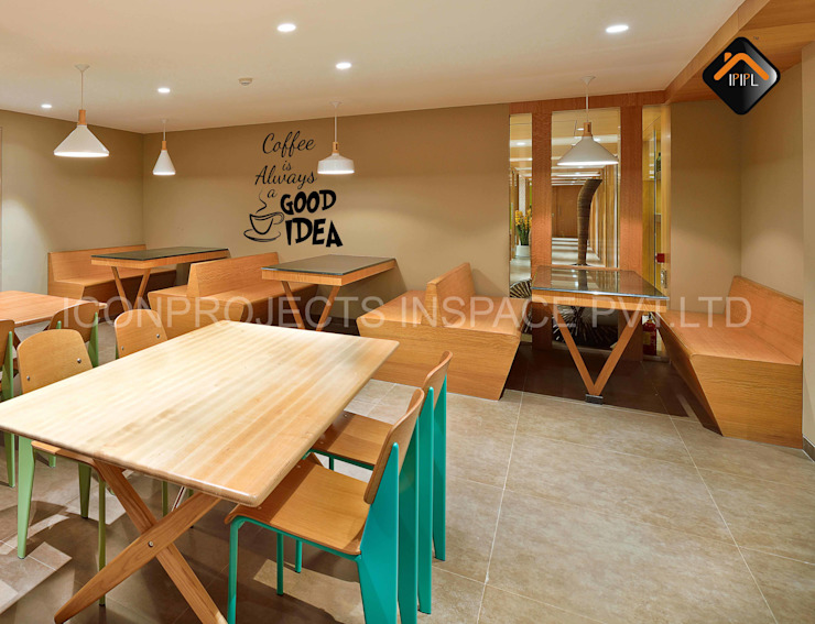Cafeteria by ICON PROJECTS INSPACE PVT.LTD Minimalist