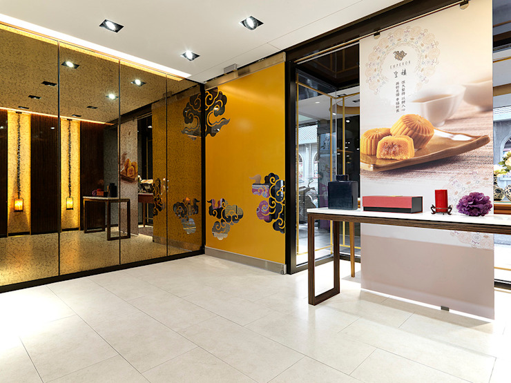 士林皇樓漢式喜餅門市 根據 ACE 空間制作所 日式風、東方風