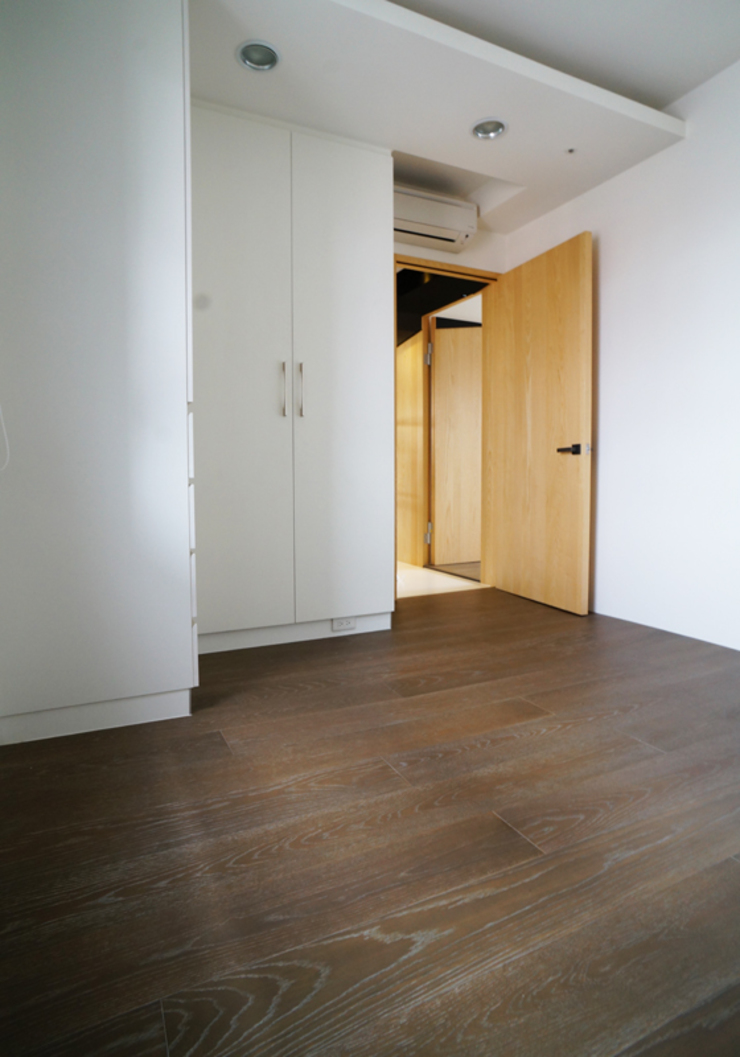 全室案例-新北市王宅 根據 ISQ 質の木系統家具 現代風