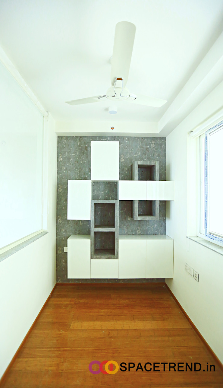 Home Office Minimalist study/office by Space Trend Minimalist