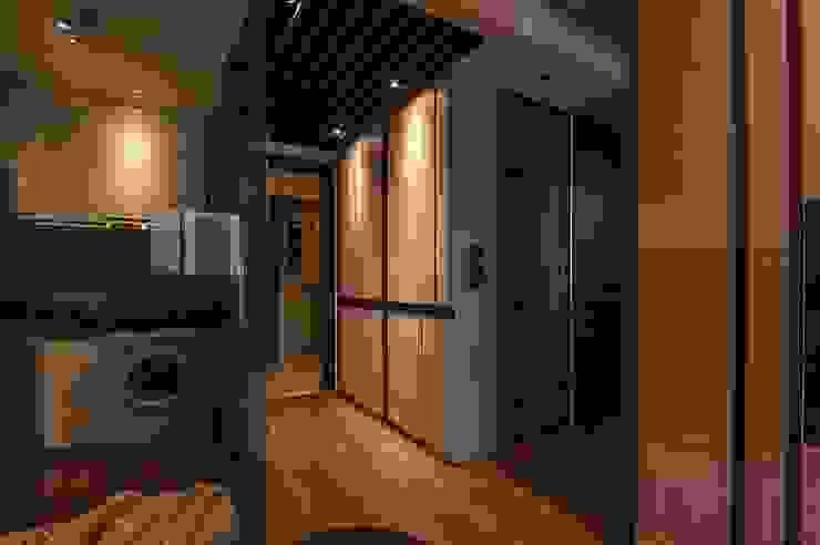 溫潤 現代風玄關、走廊與階梯 根據 沐駿室內設計有限公司 現代風