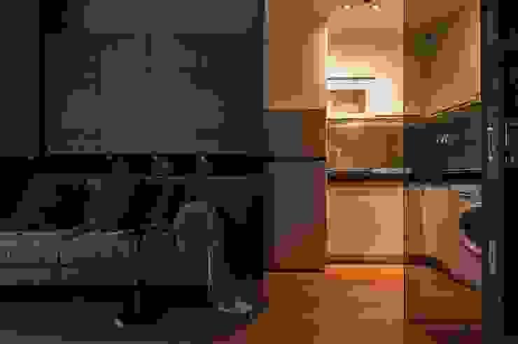 溫潤 現代廚房設計點子、靈感&圖片 根據 沐駿室內設計有限公司 現代風