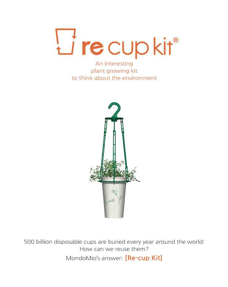 re cup kit – 플랜테리어 소품 by MondoMio 모던