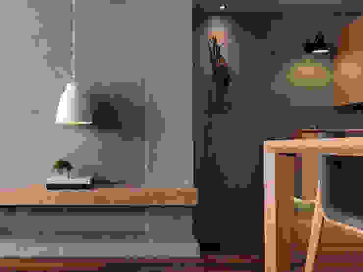 玄關 現代風玄關、走廊與階梯 根據 御見設計企業有限公司 現代風