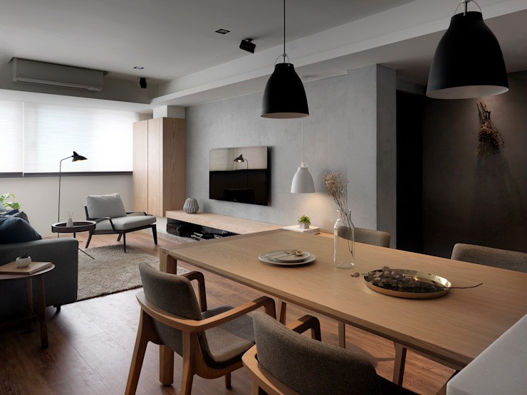 Modern Dining Room by 御見設計企業有限公司 Modern