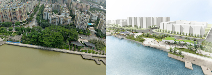 Zhuhai Before/After by Frey Gruppe