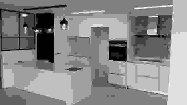 한디자인 주방 가양동 프로젝트: 현대리바트의 현대 ,모던