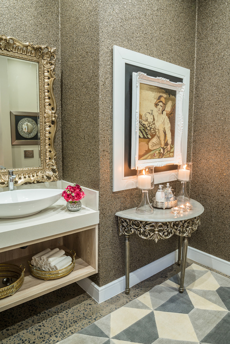 Bathroom details. Classic style bathroom by Carne Interiors Classic