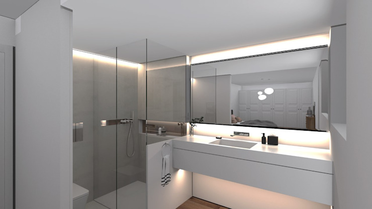 Modern style bathrooms by DISIGHT Modern