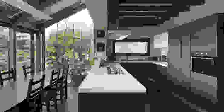 Cozinhas campestres por Studio Ecoarch Campestre