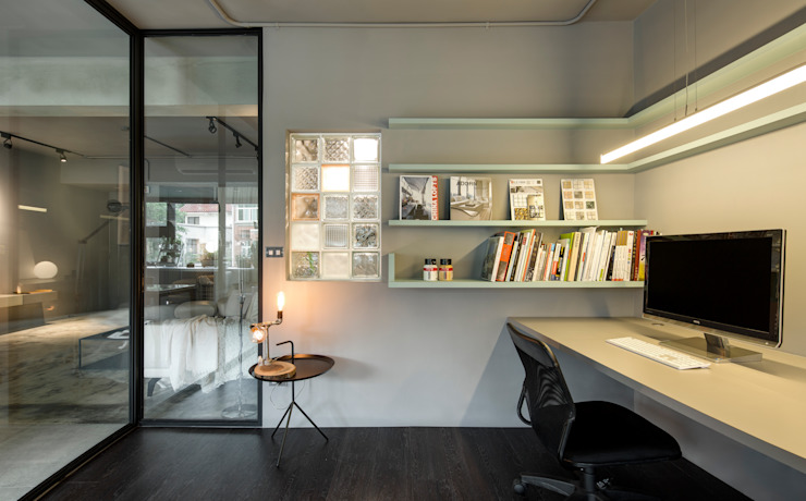 Study/office by 磨設計, Minimalist
