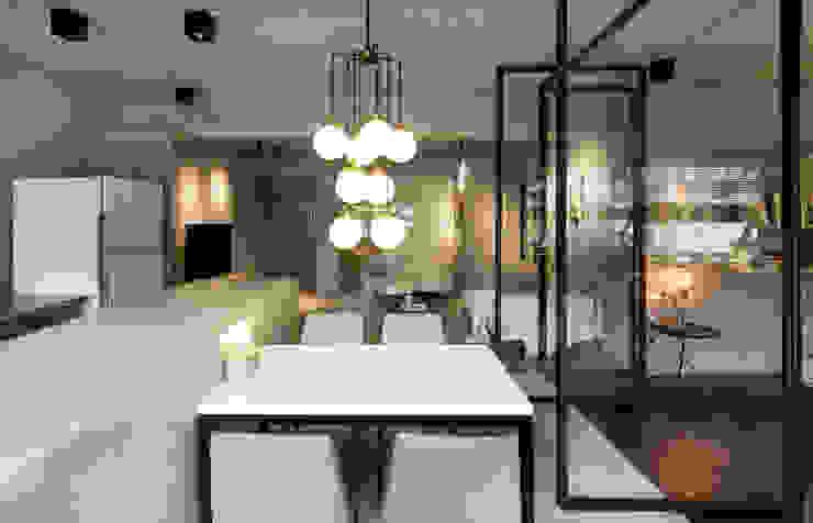 不可或缺的餐廳吊燈 根據 磨設計 簡約風