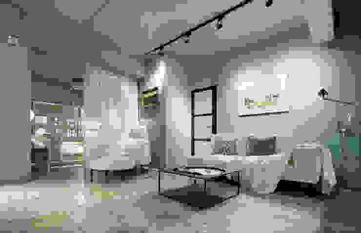 沙發的配置 根據 磨設計 簡約風