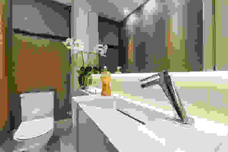 Lavabo: Banheiros  por Home projetos,Moderno