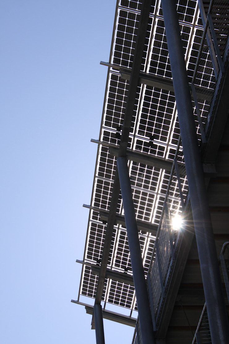 Solar panels Modern Houses by Frey Gruppe Modern