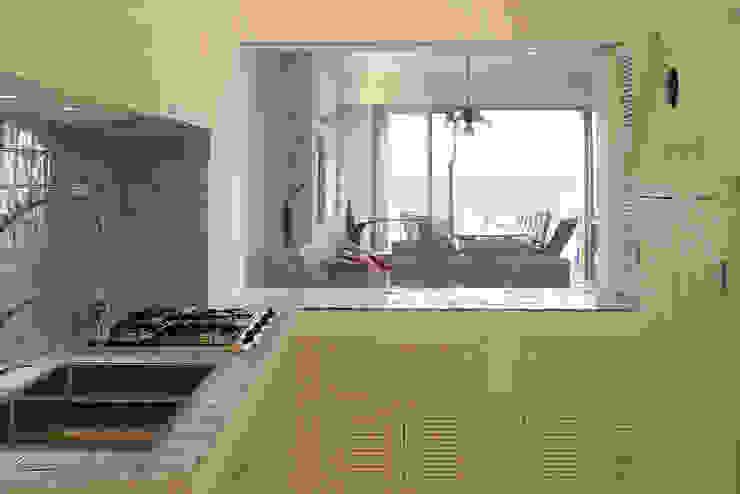 地中海デザインの キッチン の Filippo Coltro architetto 地中海