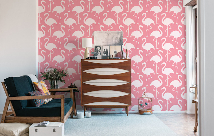 Flamingos Pixers Living roomAccessories & decoration Pink