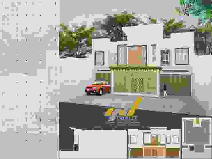 RUMAH PRIBADI & GUEST HOUSE Oleh FP STUDIO Modern Batu Bata