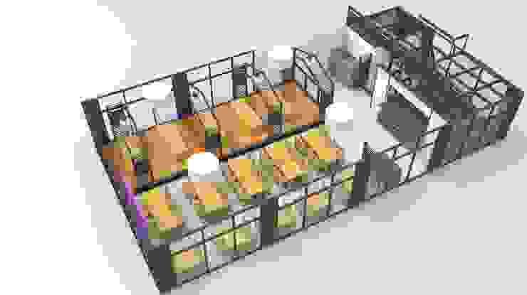 인테리어 구조 설계 이미지 by HOOSDESIGN / 후스디자인